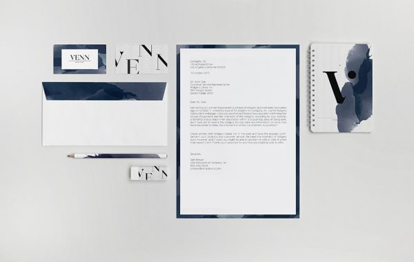 Identyfikacja wizualna nowej marki wody Vlann