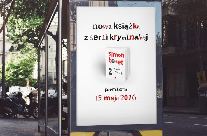 Plakat promujący książkę