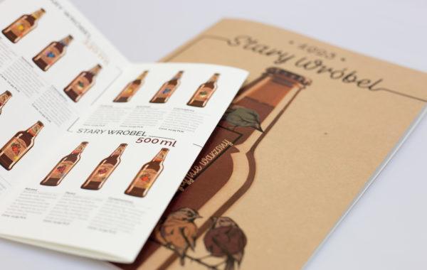 Katalog iulotki produktowe marki Stary Wróbel
