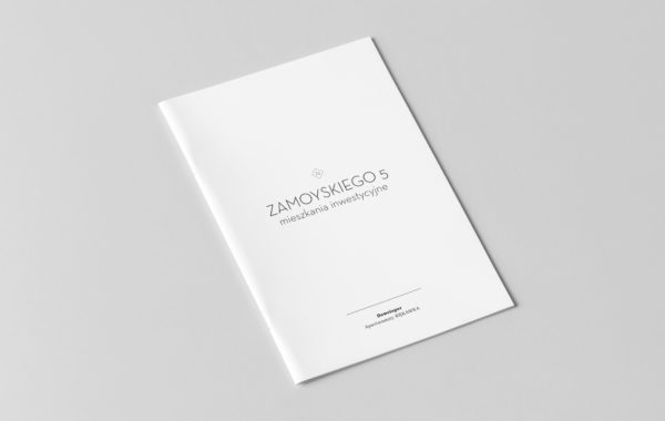 Katalog sprzedaży kamienicy przy Zamoyskiego 5 wKrakowie