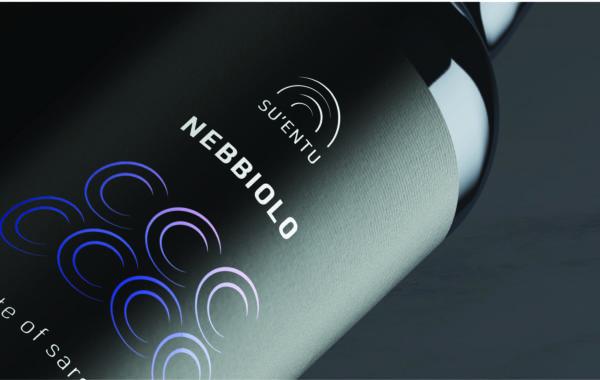 Sardyńskie wina Su'entu. Projekt logo ietykiet