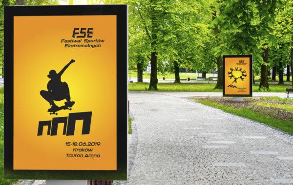 Identyfikacja wizualna Festiwalu Sportów Ekstremalnych